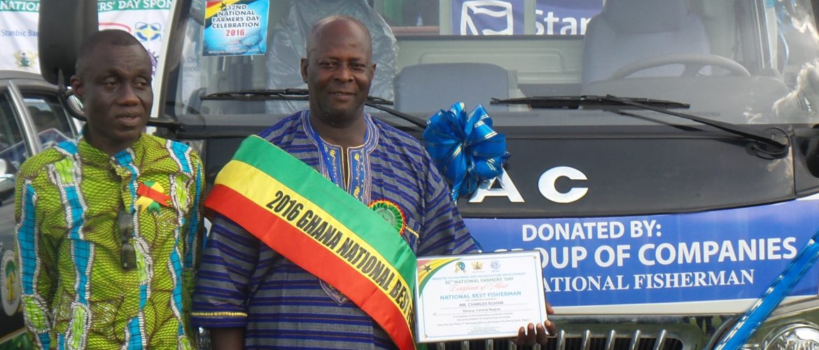Charles Eghan adjudged 2016 National Best Fisherman